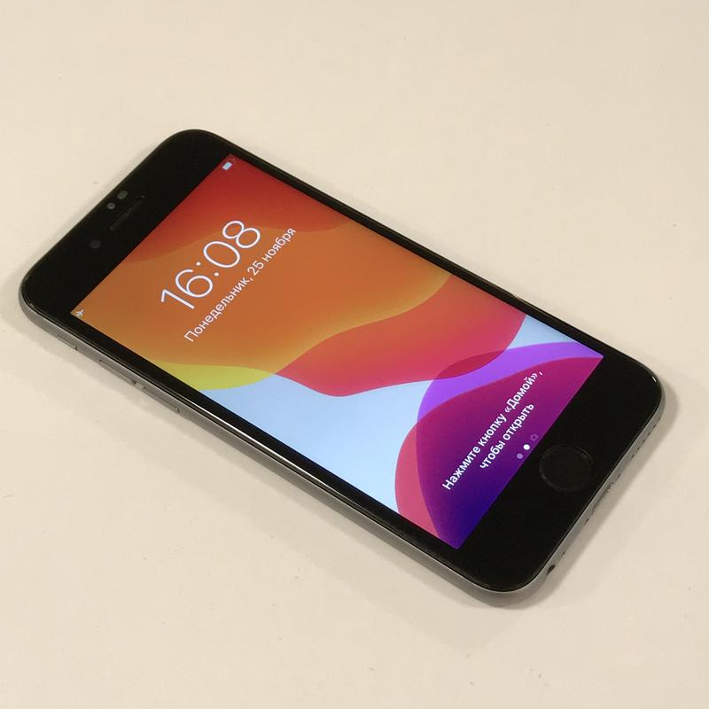 Смартфон Apple IPhone 6s 32Gb Space Gray Neverlock оригинал Б/у - Фото 2