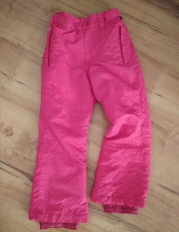 Зимние лыжные штаны на 6-7 лет