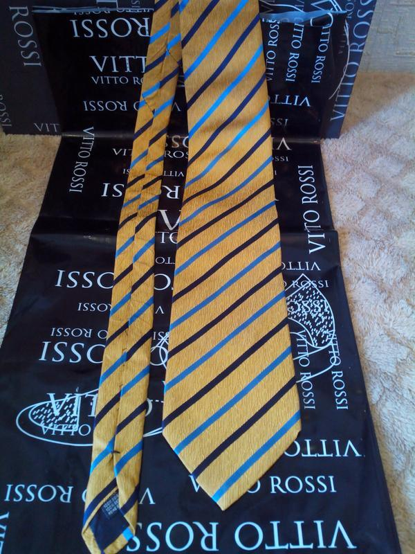 Vip галстук daniel hechter, оригинал! шелк, безупречное качество.