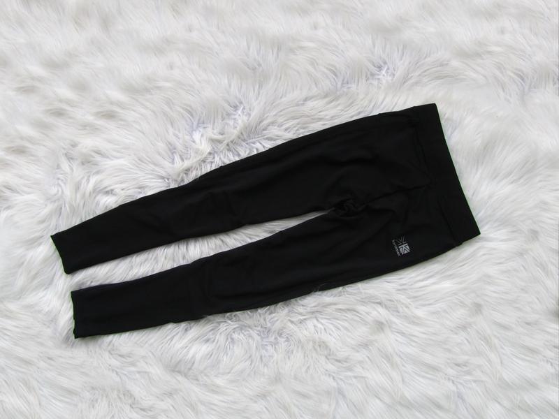 Беговые спортивные компрессионные лосины штаны брюки karrimor