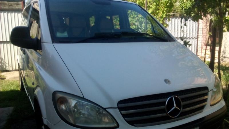 Транспортное обслуживание на микроавтобусе Мерседес Вито, 7 мест. - Фото 3