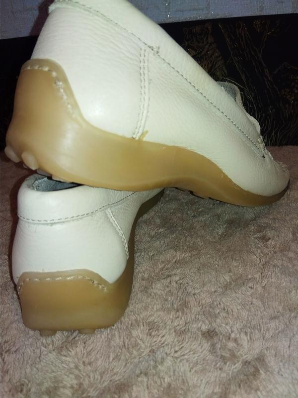 Janet d лоферы мокасины туфли италия натуральная кожа - Фото 4