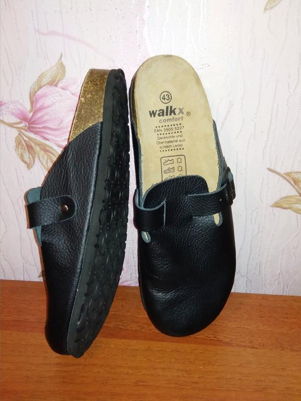 Сабо шлепанцы walk x comfort германия натуральная кожа