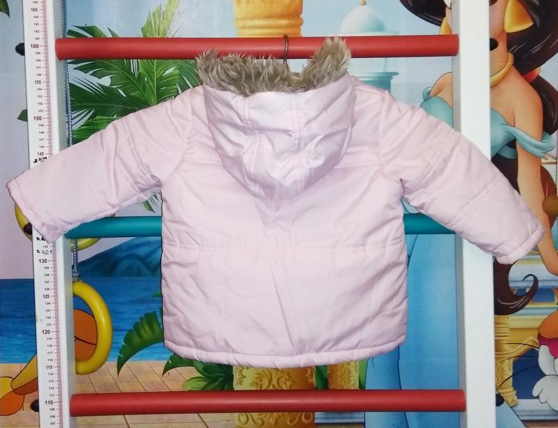 Ergee курточка детская утеплённая, на флисе, производитель гер... - Фото 2