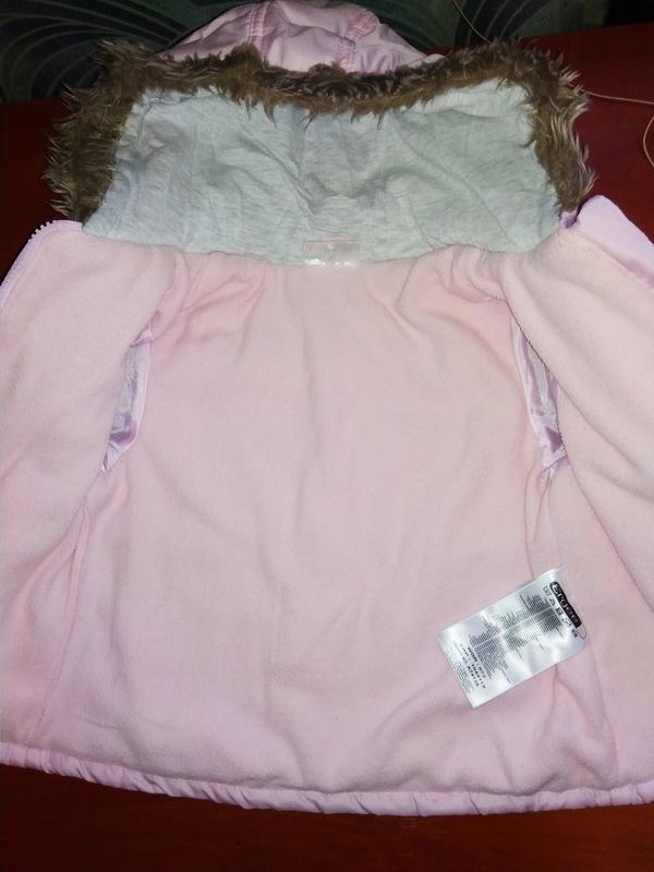Ergee курточка детская утеплённая, на флисе, производитель гер... - Фото 3