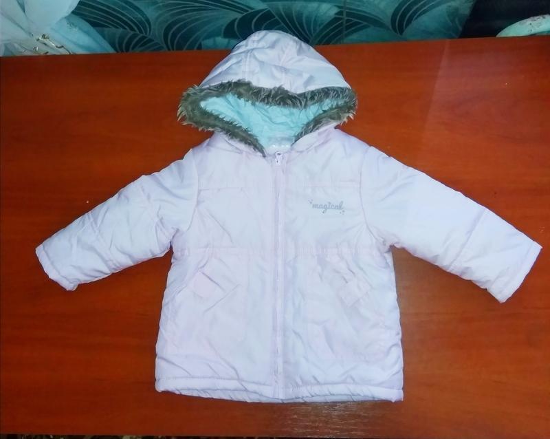 Ergee курточка детская утеплённая, на флисе, производитель гер... - Фото 4