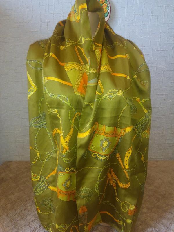 Суперстильный и яркий шарфик с красивым принтом  jaco  италия.