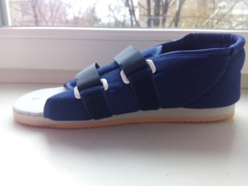 Послеоперационная обувь, подошва для гипса, медецинская обувь ...
