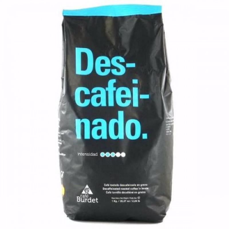 Кофе без кофеина Burdet Descafeinado, Испания, 250 и 1000г