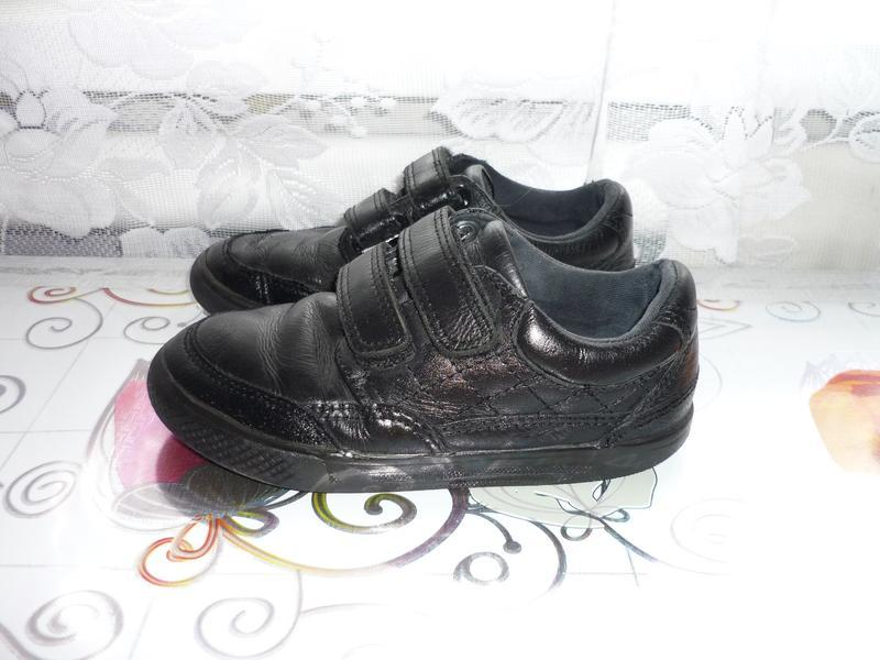 Фирменные кожаные туфли next - uk 12 - eur 13.5 - стелька - 19 см