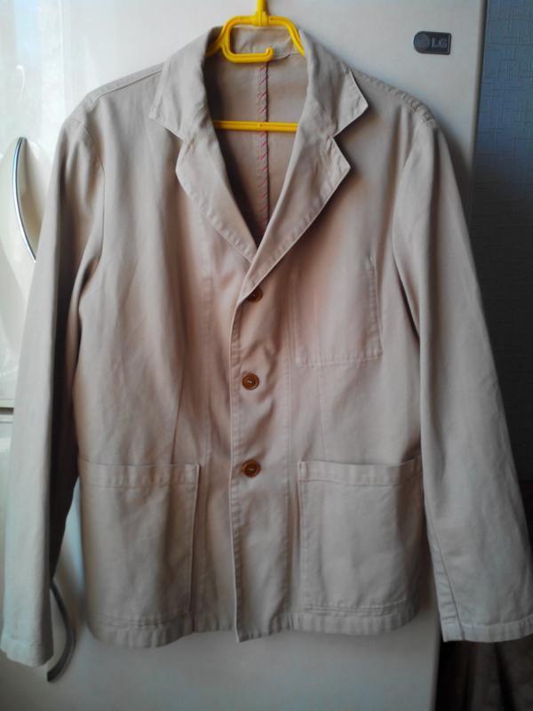 Пиджак куртка мужская легкая без подклада .