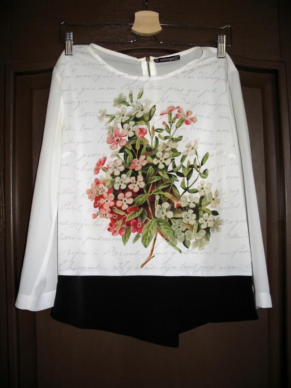 Блуза турецкого бренда selesepet, шифоновая, в идеальном состо...