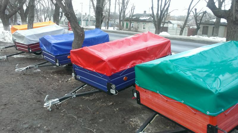 Экономный прицеп от Кременчугского производителя с ДОСТАВКОЙ.