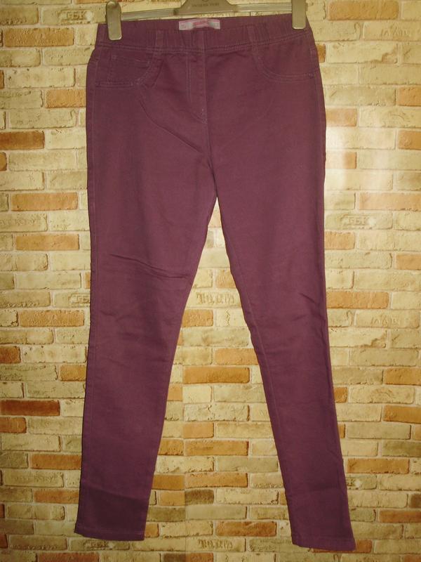 Стрейчевые джинсы джеггинсы на резинке размера l-xl