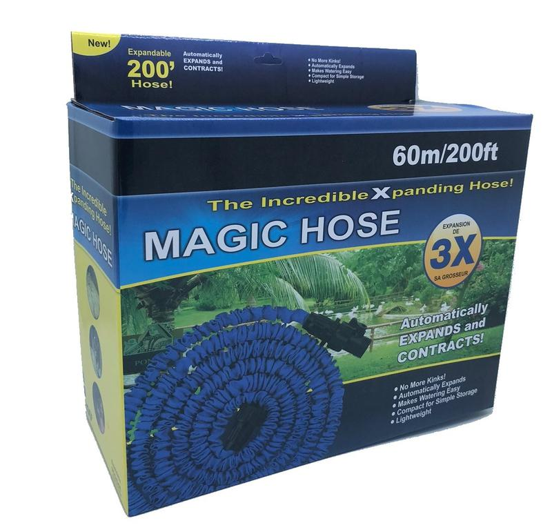 Шланг поливочный растягивающийся MAGIC HOSE 60 м/200ft (20)