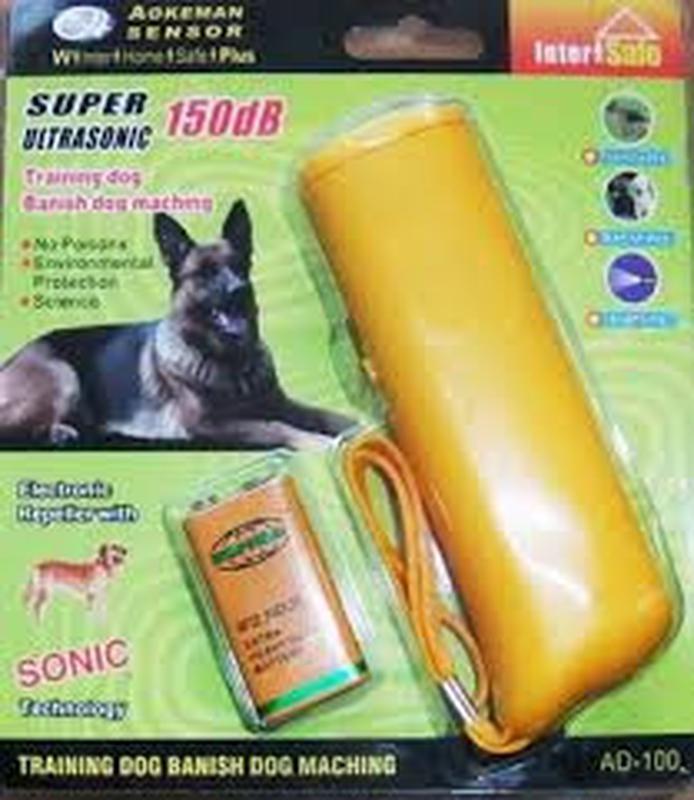 Ультразвуковой отпугиватель собак Aokeman sensor Super Ultraso...