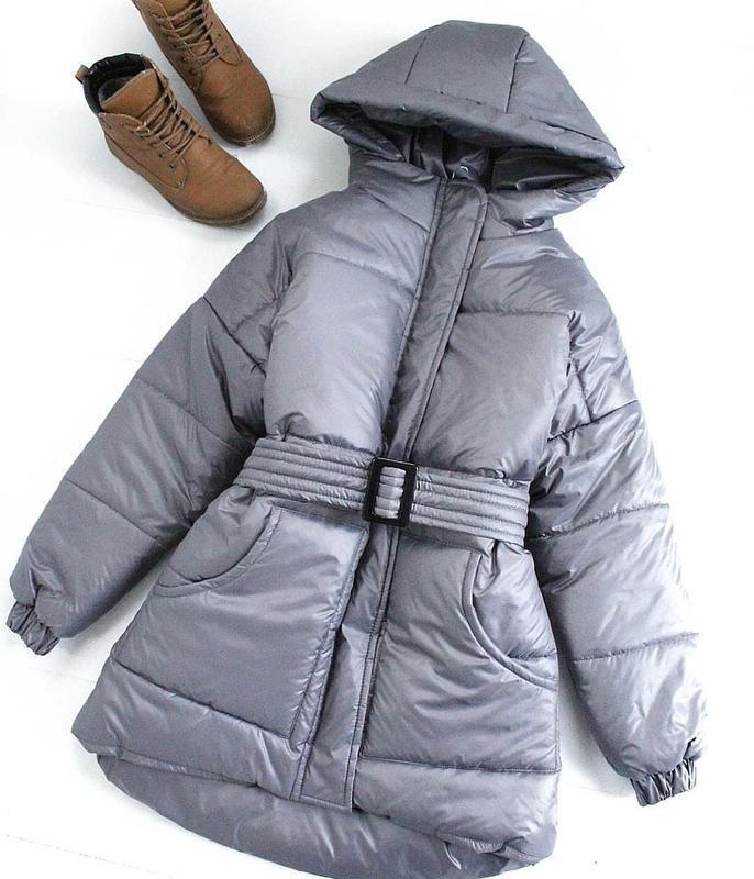 Тёплый зимний пуховик, куртка