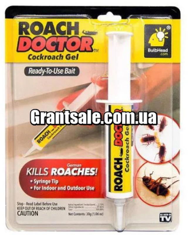 Гель от тараканов и насекомых Roach doctor Cockroach Gel (200)