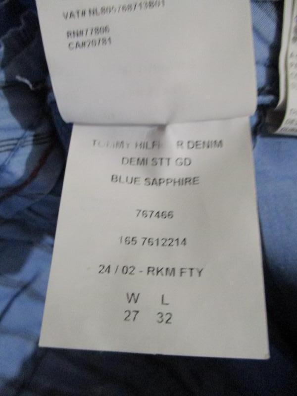 Брюки джинсы tommy hilfiger - Фото 4