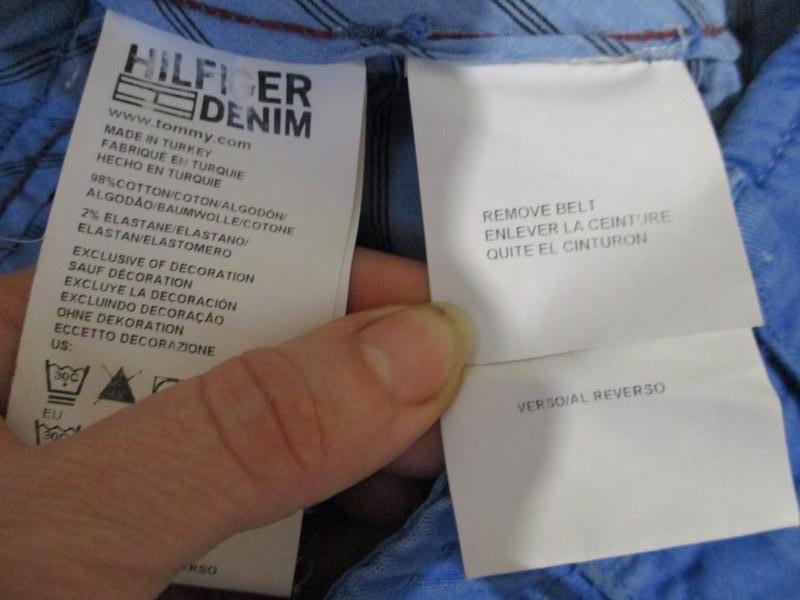 Брюки джинсы tommy hilfiger - Фото 5
