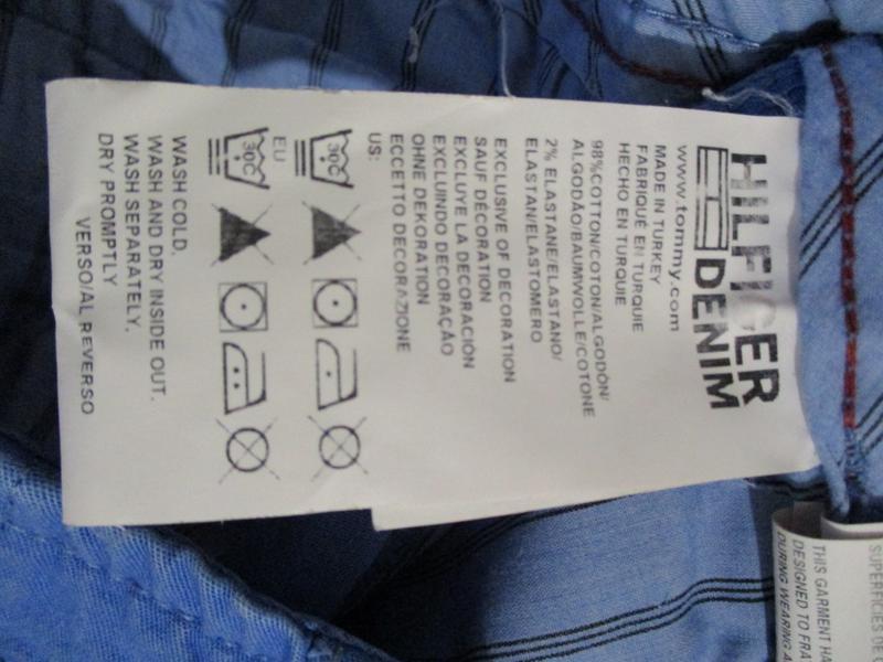 Брюки джинсы tommy hilfiger - Фото 8