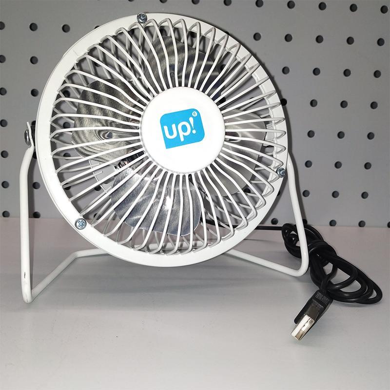 Мини вентилятор настольный маленький от USB - Фото 2