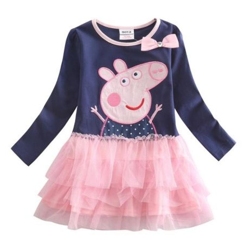 Платье Свинка Пеппа TM Nova (длинный рукав)