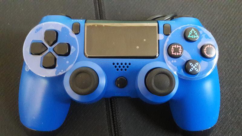 Беспроводной джойстик геймпад Bluetooth Dulashock PS4,2 ревизии