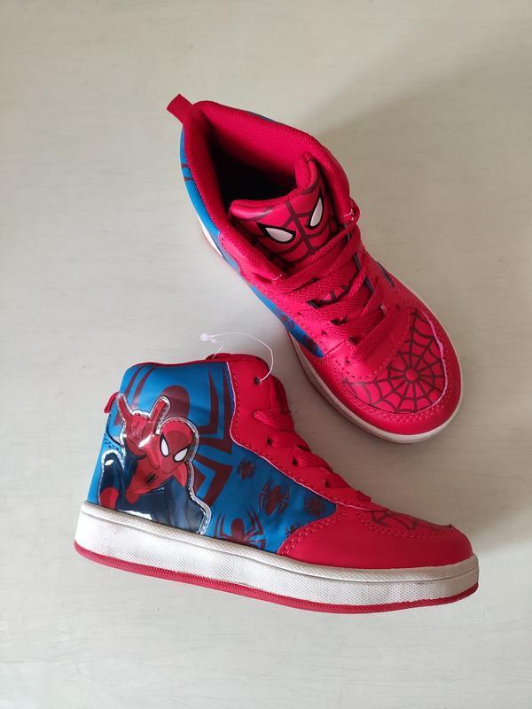 Spiderman хайтопы, высокие кроссовки