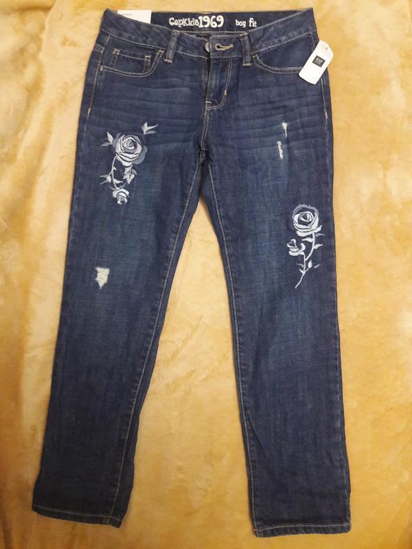 Синие джинсы для девочки gap kids boy fit - Фото 2