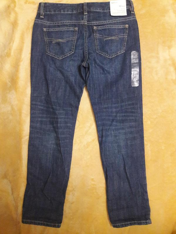 Синие джинсы для девочки gap kids boy fit - Фото 3