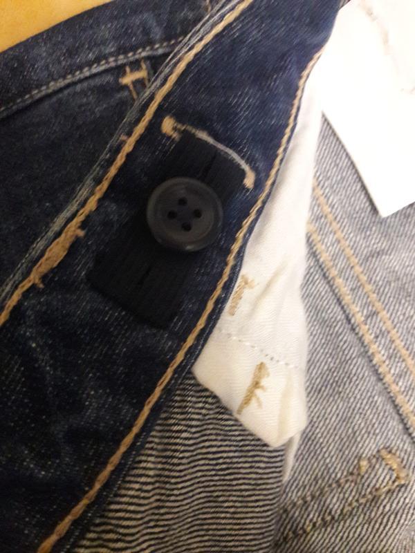 Синие джинсы для девочки gap kids boy fit - Фото 4
