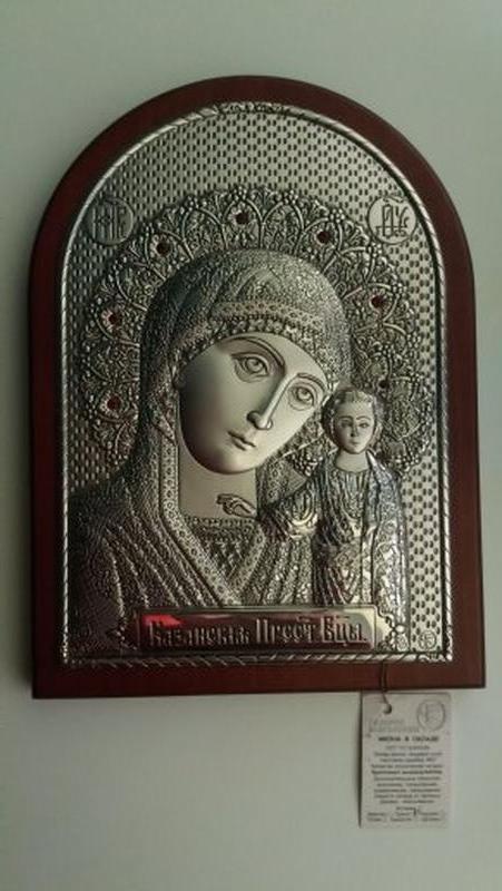 Икона ювелирная Казанская Богоматерь