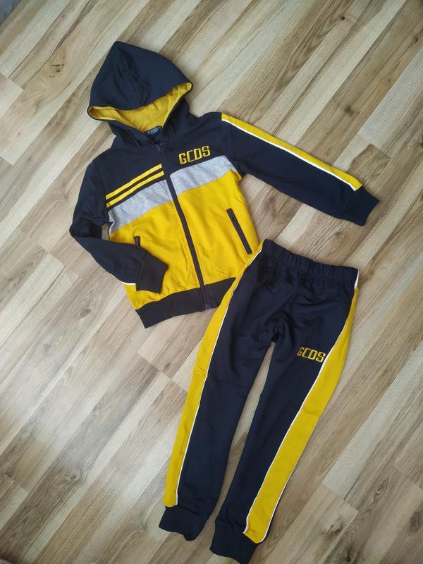 Детский спортивный костюм для мальчика весенний