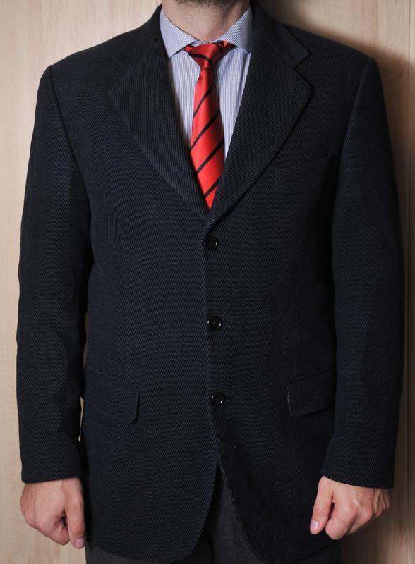 """Мягкий шерстяной мужской пиджак """"marks & spencer"""""""