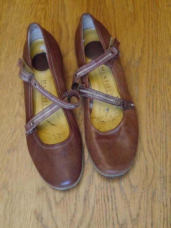 Туфлі шкіряні розмір  41 manfield