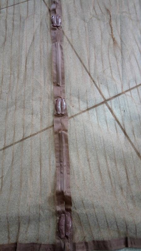 Москитная сетка на двери на магнитах - Фото 2
