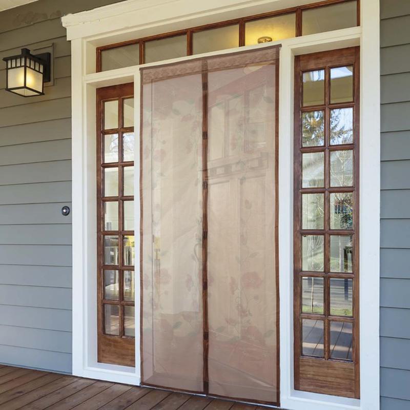 Москитная сетка на двери на магнитах - Фото 3