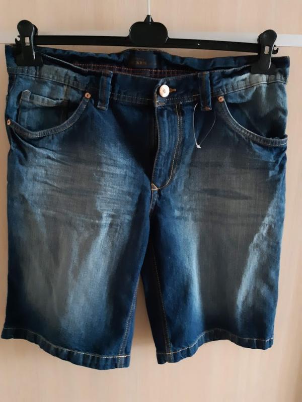 Джинсовые мужские шорты от watsons германия р. 50