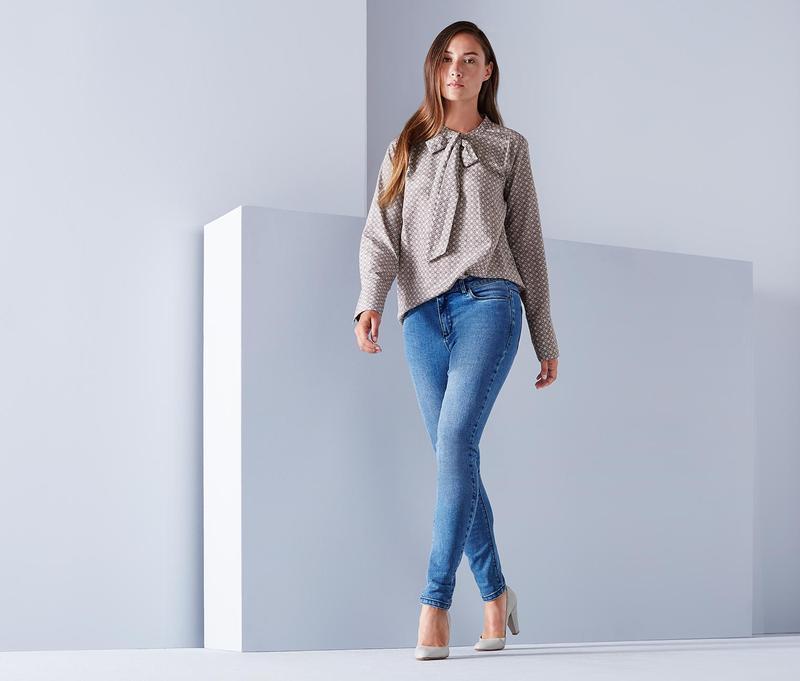 Модные  джинсики  от  tchibo р.34 евро наш 40