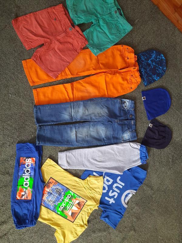 Одяг для хлопчика, пакет одягу