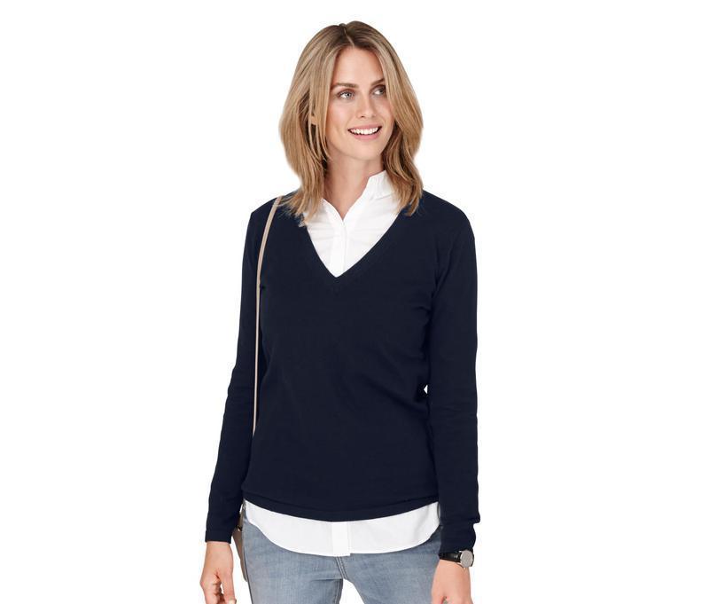 Стильный пуловер от tchibo. р. 36 - 38 евро наш 42 - 44.