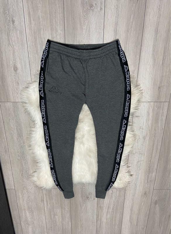 Мужские спортивные штаны Kappa с лампасами M-L оригинал ellesse