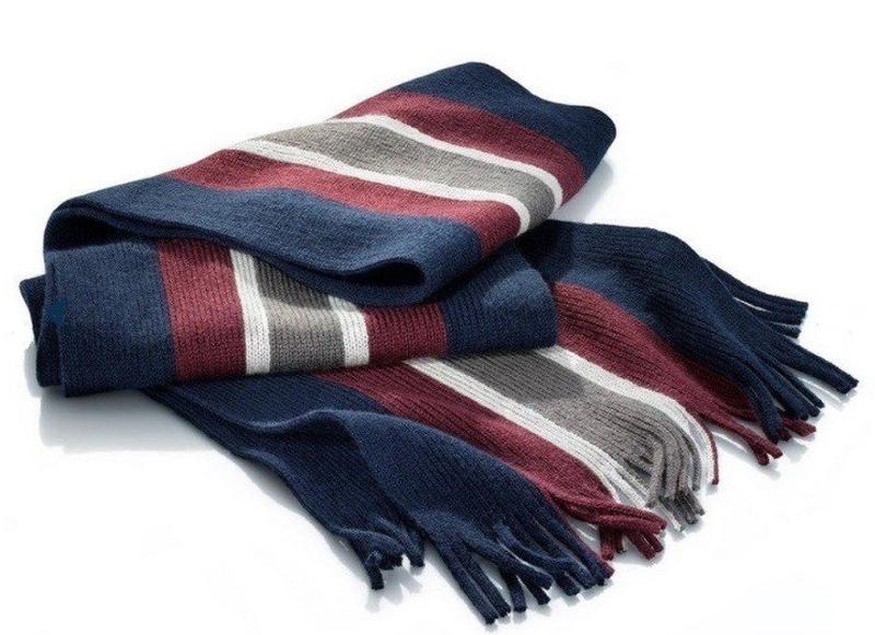 Мужской шарф с шерстью от  tchibo  германия