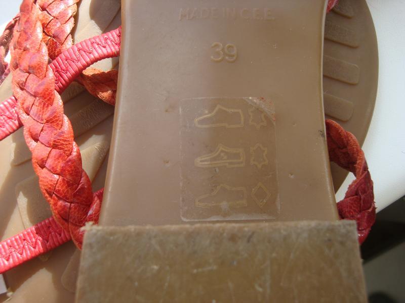 Мегаудобные кожаные босоножки дорогой итальянский бренд di marzio - Фото 5