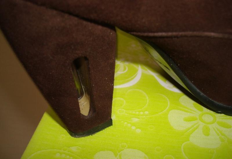 🌲🌲зимние полусапоги женские нат замш овчина на каблуке шоколад... - Фото 5