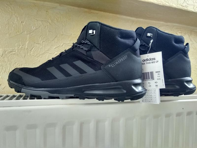 Зимние водонепроницаемые ботинки кроссовки adidas terrex tivid... - Фото 3