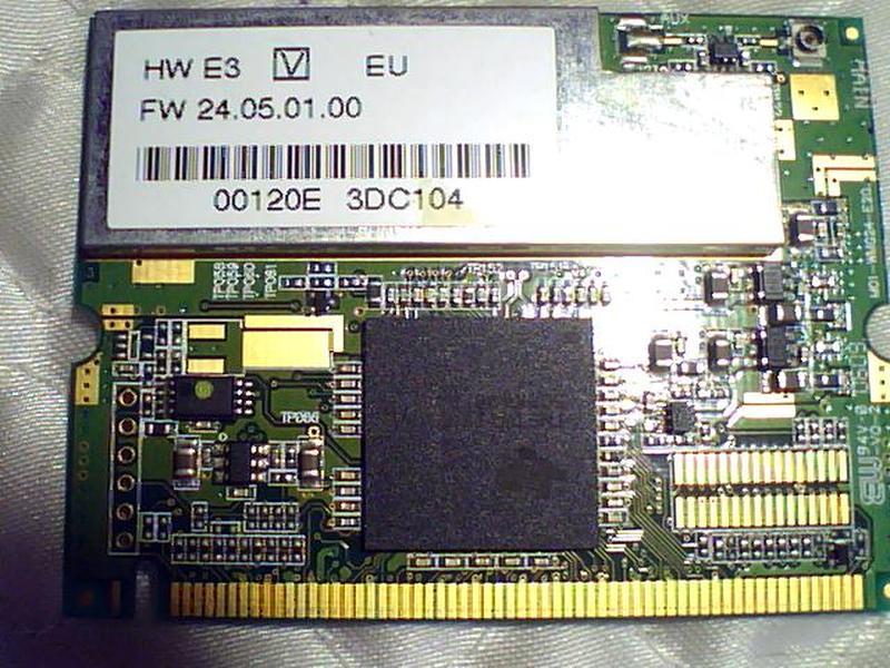 Wi-fi-адаптер Minipci на TI (tnetw1130gvf) 802.11a/b/g