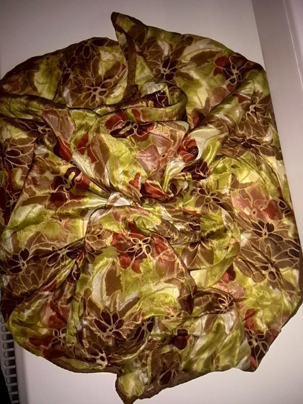 Шелковый платок / платок из натурального шелка 68*66