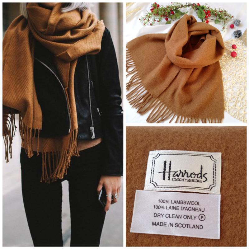 Шерстяной шарф harrons